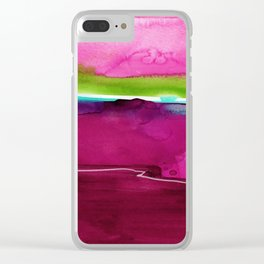 Meditations No. 33I by kathy Morton Stanion Clear iPhone Case
