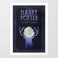 HP Book 3 (Book Cover) Art Print