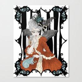 Madame Batshit Canvas Print