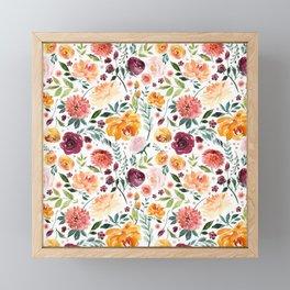 Spring Garden Framed Mini Art Print