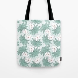 Fern-tastic Girls in Sage Green Tote Bag