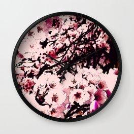 Hana Collection - Sakura II Wall Clock