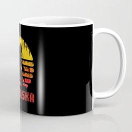 Bigfoot Nebraska State Coffee Mug