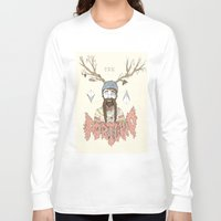 portland Long Sleeve T-shirts featuring PORTLAND I by Michael Todd Berland
