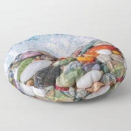Rainbow Stones Floor Pillow