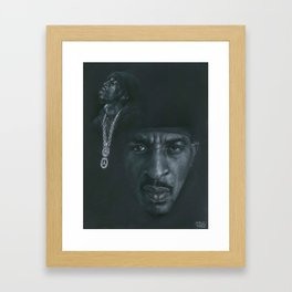 Know The Ledge Framed Art Print
