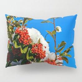 Snow Berries Pillow Sham