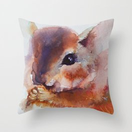 Chipmunk Dale Throw Pillow