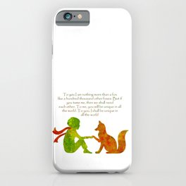 Little Prince Quote iPhone Case