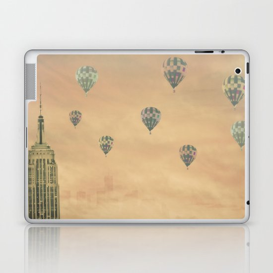 Balloons over the Empire Laptop & iPad Skin