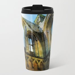 Glastonbury Abbey  Travel Mug
