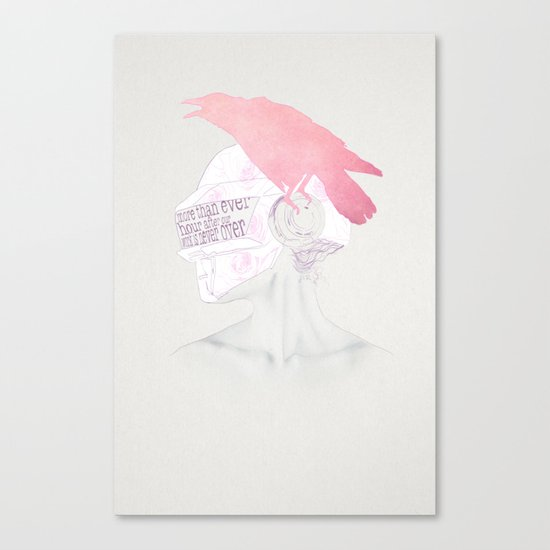 Never Over Canvas Print