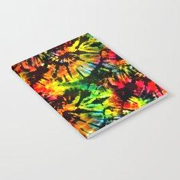 Vivid Psychedelic Hippy Tie Dye Notebook