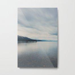 Lake Tahoe at sunrise ... Metal Print