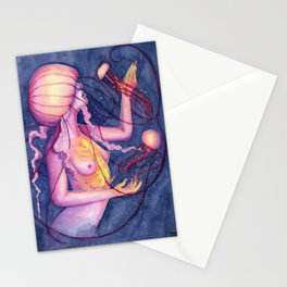 A Dance In The Dark Stationery Cards