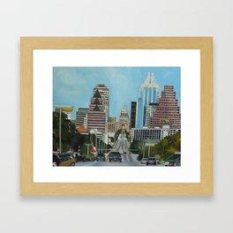 The Capitol, Austin, TX Framed Art Print