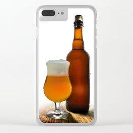 Belgian Beer 2 Clear iPhone Case