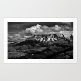 Cloudscapes Over Mt. St. Helens Art Print