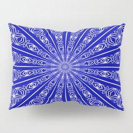 Chakra Mandala (lapis blue) Pillow Sham