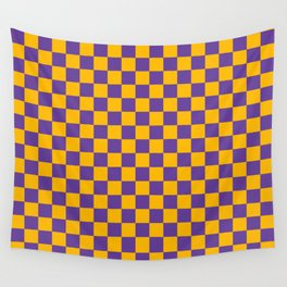 Checkered Pattern II Wall Tapestry