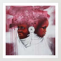 african Art Prints featuring African  by Sebastian Wandl