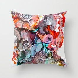 Apothicaire Throw Pillow