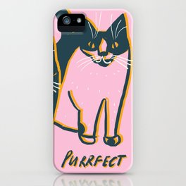 All is Purrfect Cats iPhone Case