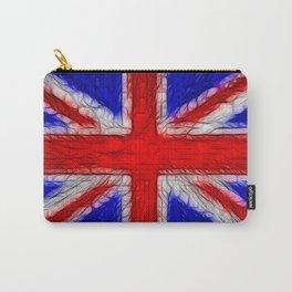 Union Jack Flag Fratilius Carry-All Pouch
