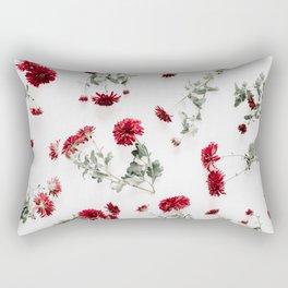 Red Background 01 Rectangular Pillow
