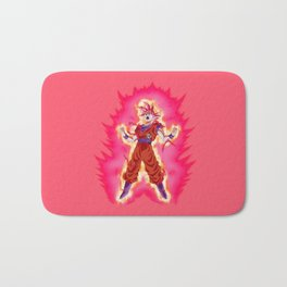 Amazing Super Saiyan Goku Cool Bath Mat