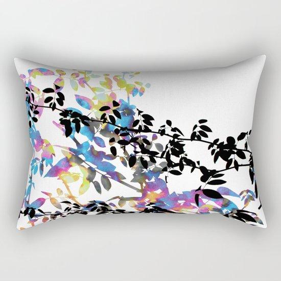 Rose Vine Ecstasy Rectangular Pillow