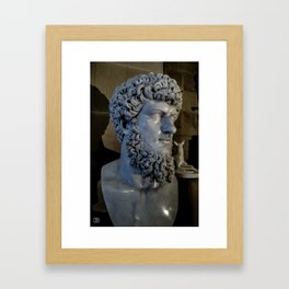 Statue. Framed Art Print
