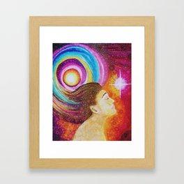 The Light Within Framed Art Print