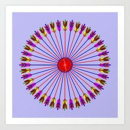 Arrows Design Art Print