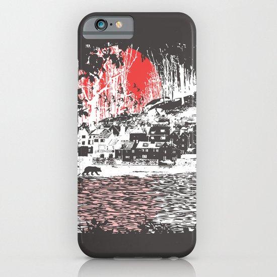 Cosmic Winter - Dark iPhone & iPod Case