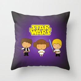 Star Wars Trio Throw Pillow