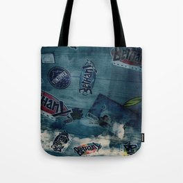 Walls within my happy place Tote Bag