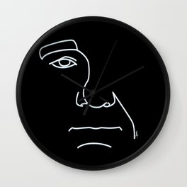 Bill Murray - Black and White Wall Clock