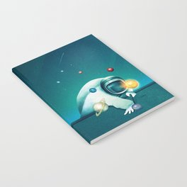 Astronaut Billards Notebook