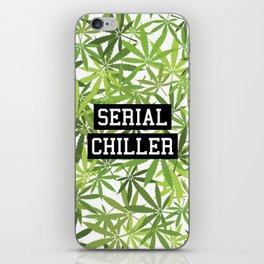 Serial Chiller iPhone Skin