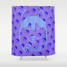 HU$KY Shower Curtain