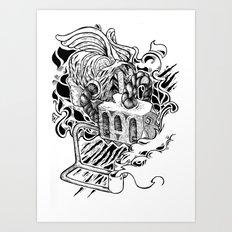 BIZARUM Art Print