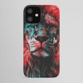 Lion wild cat #lion iPhone Case