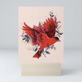 Blooming Bird Mini Art Print