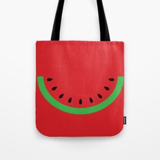 Minimal Melon Tote Bag