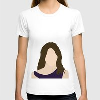 himym T-shirts featuring Robin Scherbatsky HIMYM by Rosaura Grant
