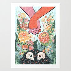 Till Death Do Us Part Art Print