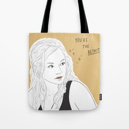 THE WALKING DEAD POSITIVITY POSTS (BETH) Tote Bag
