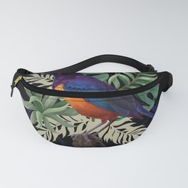 Tropical Bird Motif Gift Idea Design Motif Fanny Pack