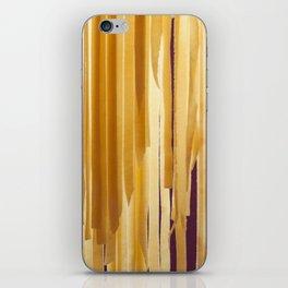 Sundried stripes iPhone Skin